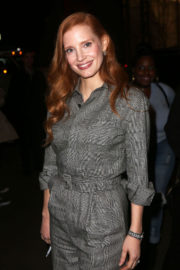 Jessica Chastain Stills at Molly's Game Moma's Contenders Screening in New York 2017/11/17