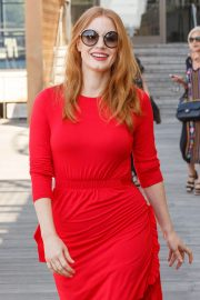 Jessica Chastain Stills on the Set of a Photocall in Front of Sydney Opera House 2018/01/29