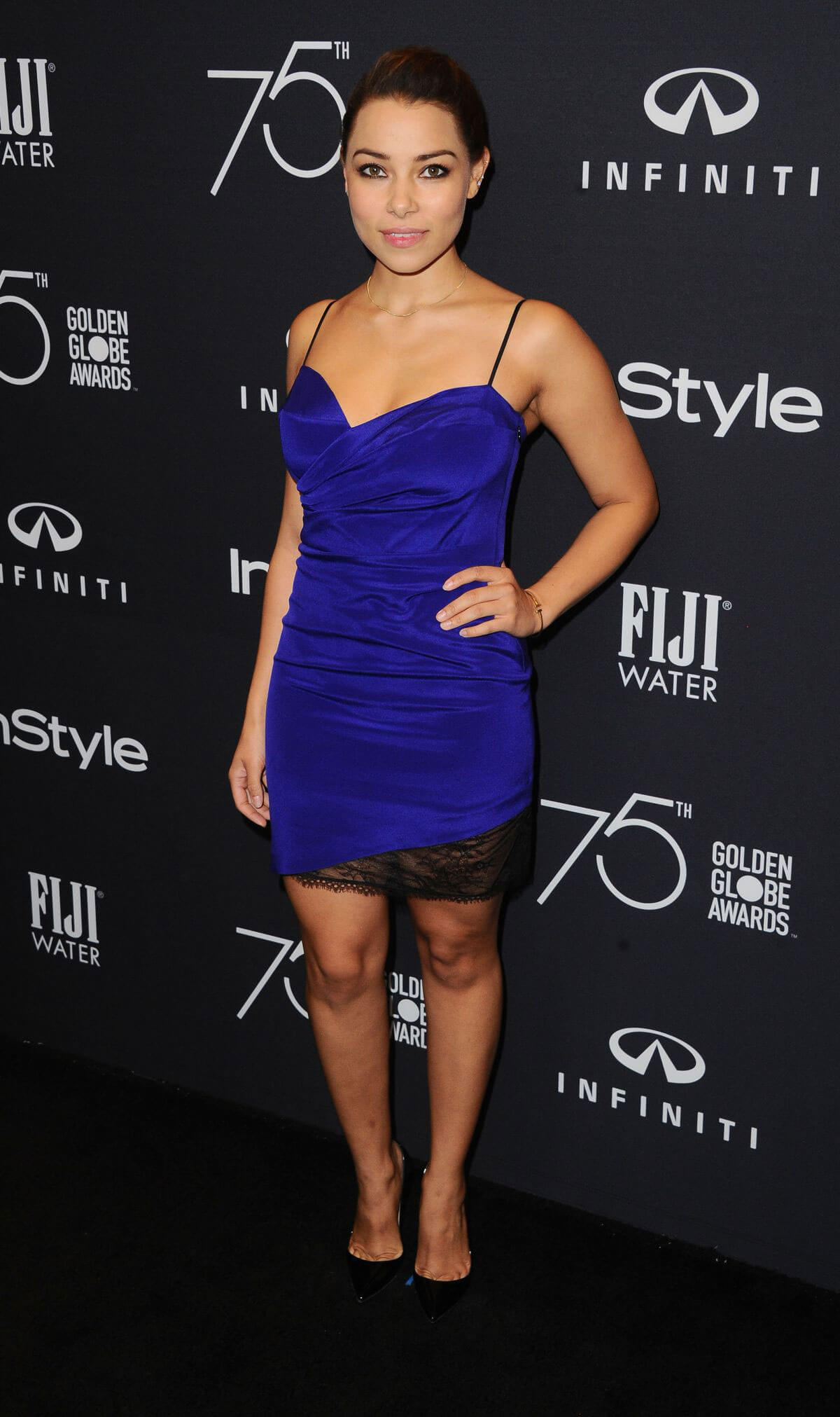 Jessica Parker Kennedy Stills at HFPA & Instyle Celebrate 75th Anniversary of the Golden Globes in Los Angeles 2017/11/15