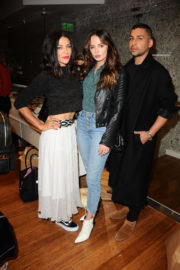Jessica Szohr at Bollare Holiday Harvest x Timberland Fall Style Event in Beverly Hills 2017/11/14