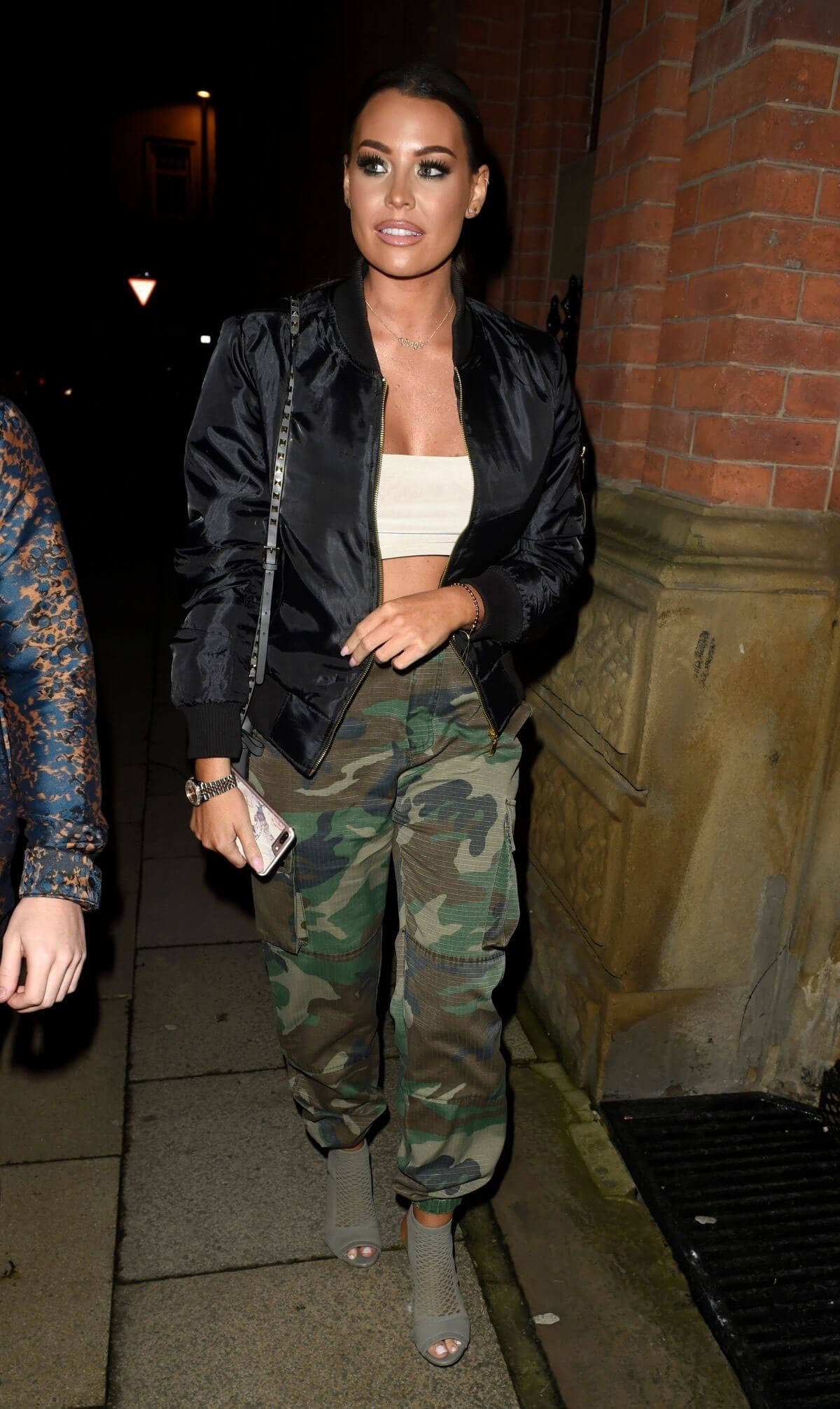 Jessica Wright Stills Arrives at Mahiki in Manchester 2018/01/27