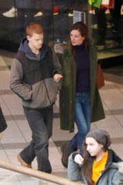 Julia Roberts and Lucas Hedges Stills on the Set of Ben is Back in New York 2018/01/03