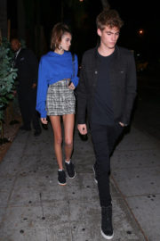 Kaia Gerber Stills Night Out in West Hollywood 2017/11/17