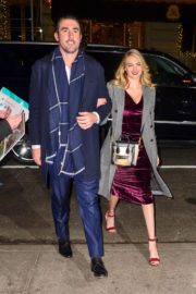 Kate Upton and Justin Verlander Stills Out for Dinner at Polo Bar in New York 2017/11/17