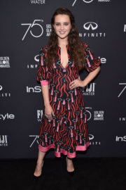 Katherine Langford Stills at HFPA & Instyle Celebrate 75th Anniversary of the Golden Globes in Los Angeles 2017/11/15