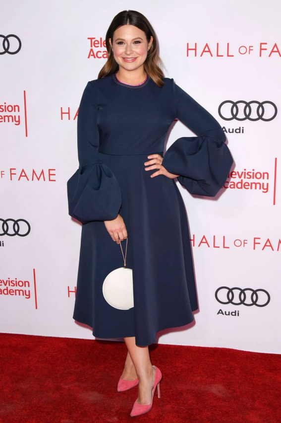 Katie Lowes Stills at Television Academy Hall of Fame Induction in Los Angeles 2017/11/15