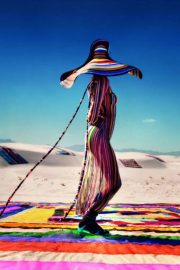 Kendall Jenner Poses for Missoni Spring/Summer 2018 Campaign