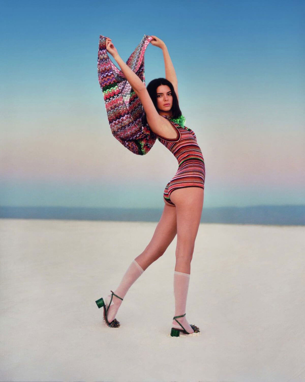 Kendall Jenner Poses for Missoni Spring/Summer 2018 Campaign Photos