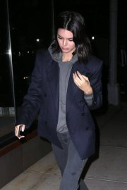 Kendall Jenner Stills Night Out in New York 2018/01/27