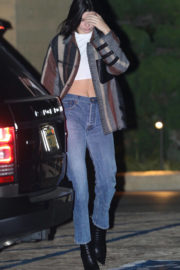 Kendall Jenner Stills Out for Dinner in Los Angeles 2017/11/14