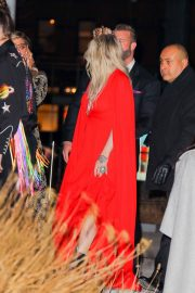 Kesha Stills Arrives at a Grammy's After-party in New York 2018/01/29