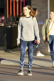 Kiernan Shipka Stills Out and About in Los Angeles 2017/12/07
