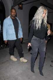 Kim Kardashian and Kanye West Stills Out in Los Angeles 2018/01/12