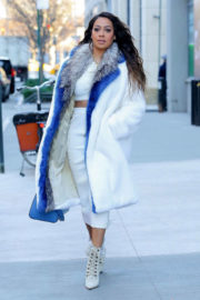 La La Anthony Stills Out and About in New York 2017/12/22