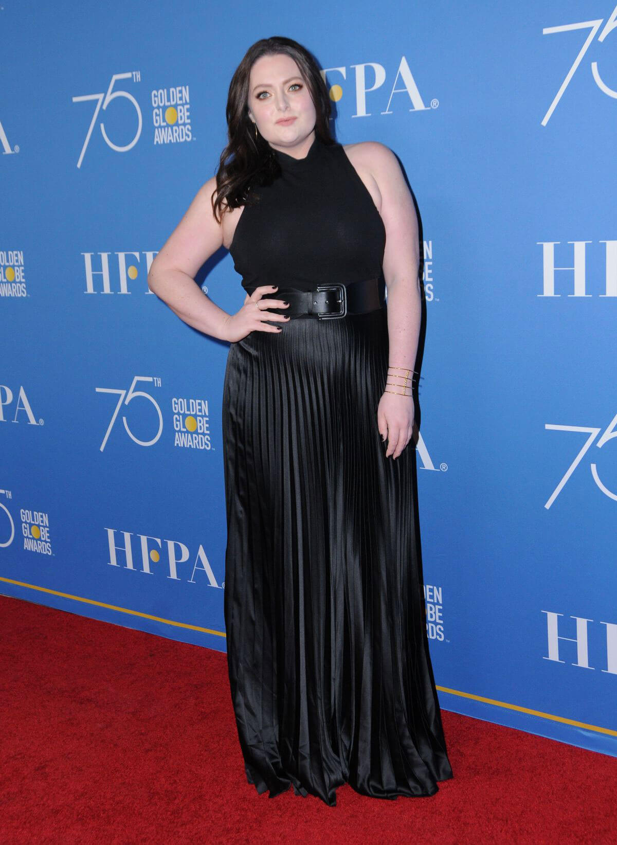 Lauren Ash Stills at HFPA 75th Anniversary Celebration and NBC Golden Globe Special Screening in Hollywood 2017/12/08