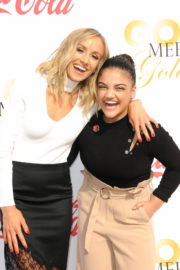 Laurie Hernandez Stills at 5th Annual Gold Meets Golden in Los Angeles 2018/01/06
