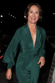 Laurie Metcalf Stills at Craig's Restaurant in West Hollywood 2018/01/05