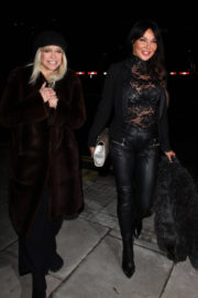 Lizzie Cundy and Jo Wood Stills at #megsmenopause Launch Party in London 2018/01/10