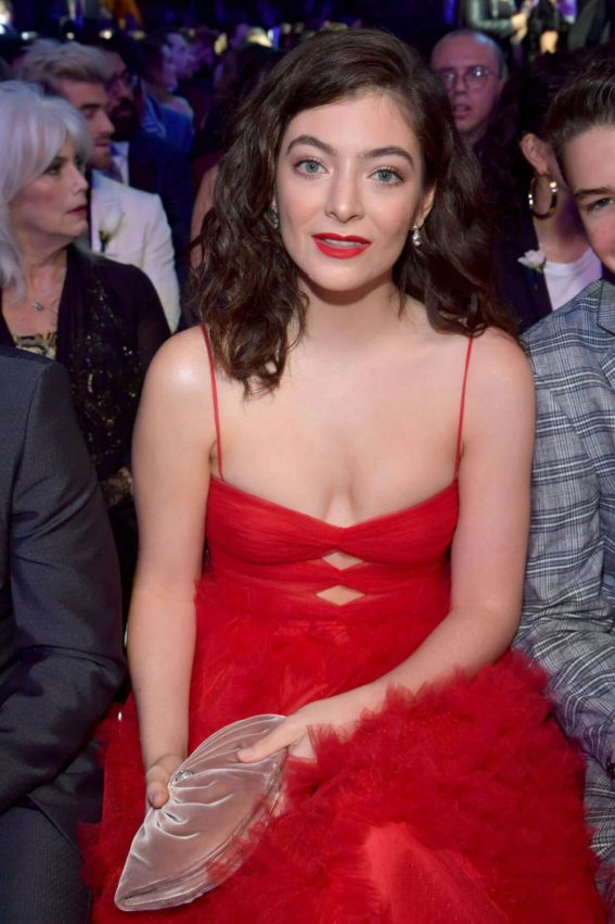Lorde Stills at Grammy 2018 Awards in New York 2018/01/28