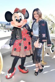 Lucy Hale Stills at Lunch Celebrating Minnie's Star on the Hollywood Walk of Fame in Los Angeles 2018/01/22