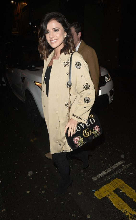 Lucy Mecklenburgh Stills Night Out in Manchester 2017/12/31