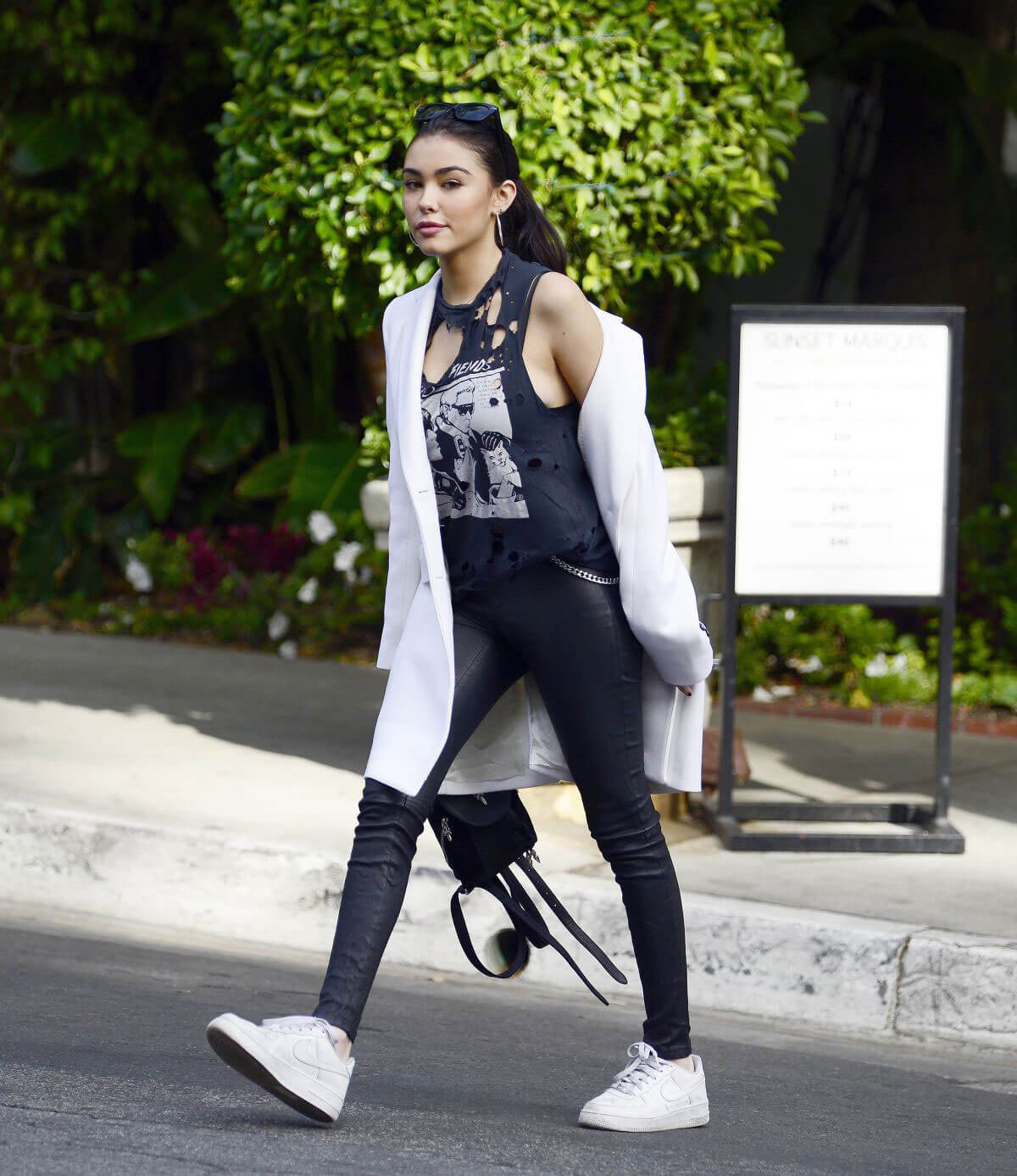 Madison Beer and Biel Stills Leaves Sunset Marquis Hotel in Los Angeles 2018/01/30
