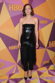 Maggie Gyllenhaal Stills at HBO's Golden Globe Awards After-party in Los Angeles 2018/01/07