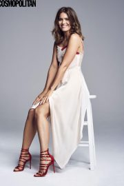 Mandy Moore Poses for Cosmopolitan Magazine, March 2018 Issue