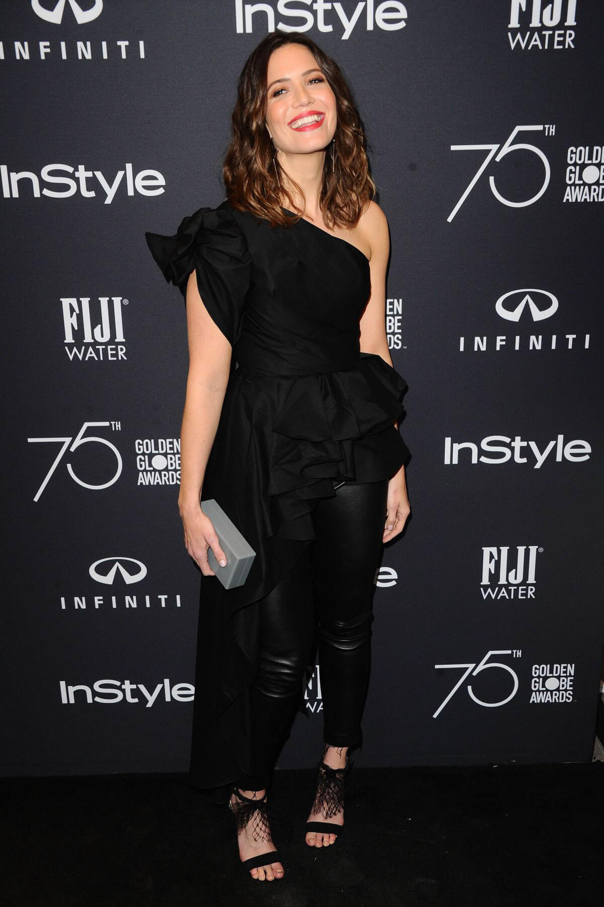Mandy Moore Stills at HFPA & Instyle Celebrate 75th Anniversary of the Golden Globes in Los Angeles 2017/11/15