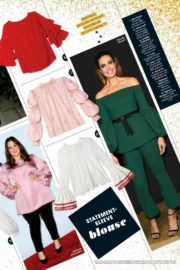 Mandy Moore Stills in PeopleStyle Magazine, December/January 2017/2018