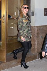 Mariah Carey Stills Out and About in New York 2018/01/24