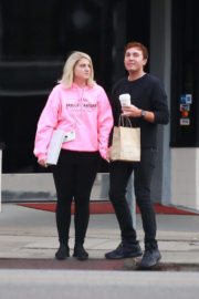 Meghan Trainor and Daryl Sabara Stills Out Shopping in West Hollywood 2018/01/03