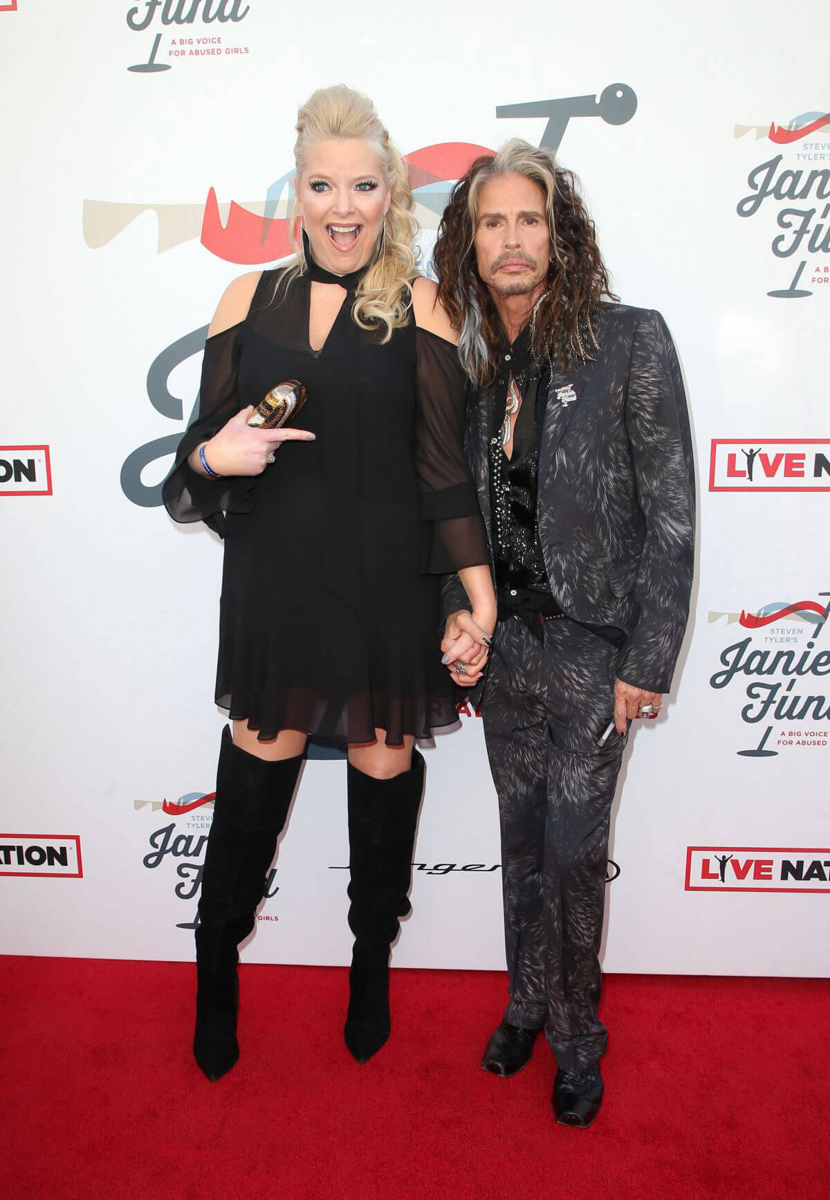 Melissa Peterman Stills at Steven Tyler and Live Nation Presents Inaugural Janie's Fund Gala and Grammy 2018/01/28