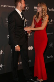 MICHA:A BURNS and Jack Sock Stills at Hopman Cup New Years Eve Players Ball in Perth 2017/12/31