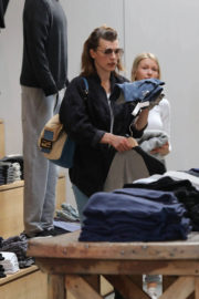 Milla Jovovich Stills Out Shopping in West Hollywood 2017/12/22