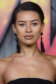 Montana Brown Stills at Jumanji: Welcome to the Jungle Premiere in London 2017/12/07