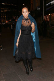 Myleene Klass Stills Out and About in London 2017/11/15