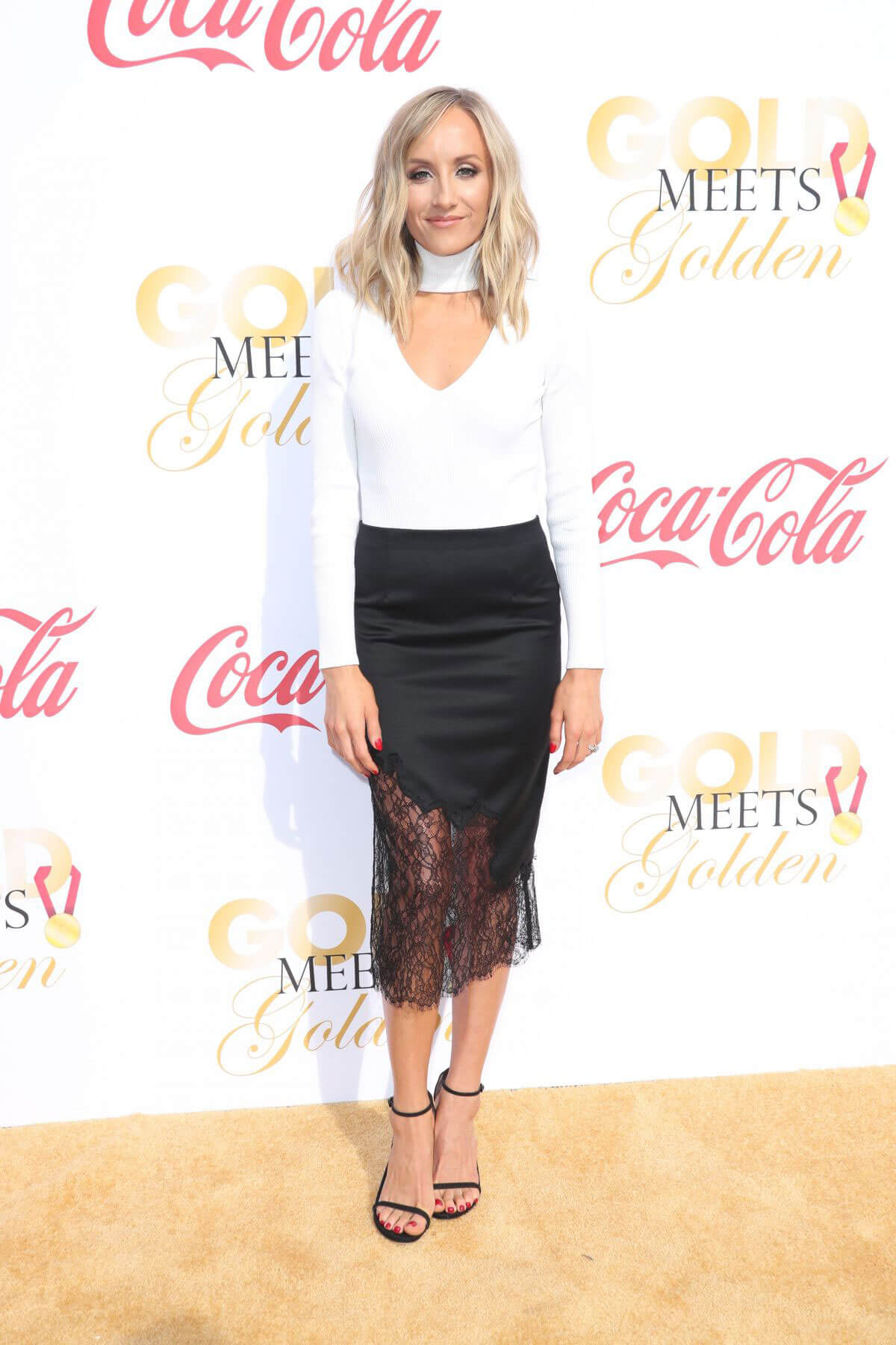 Nastia Liukin Stills at 5th Annual Gold Meets Golden in Los Angeles 2018/01/06