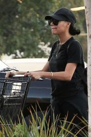 Naya Rivera Stills Out for Grocery Shopping in Los Angeles 2018/01/17