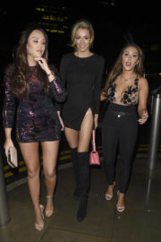Olivia Attwood, Charlotte Crosby and Sophie Kasaei Stills Celebrates New Year in Manchester 2017/12/31