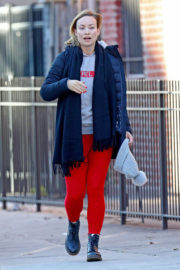 Olivia Wilde Stills Out and About in New York 2018/01/03