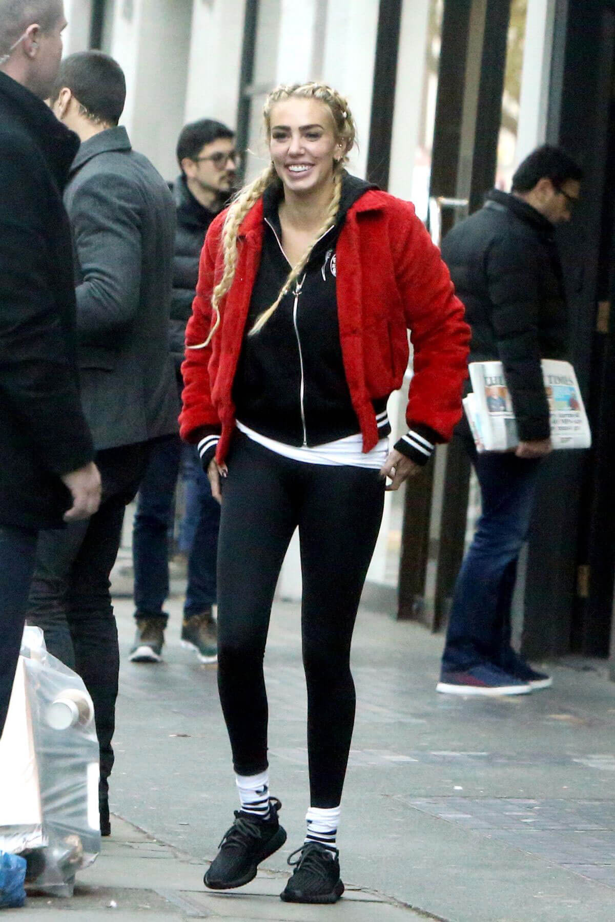 Petra Ecclestone Stills Out and About in London 2017/11/16