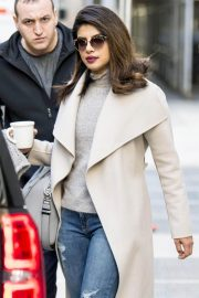 Priyanka Chopra Stills Out and About in New York 2018/01/31