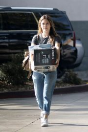 Rachel Bilson Stills Shopping at Best Buy in Los Angeles 2017/11/13
