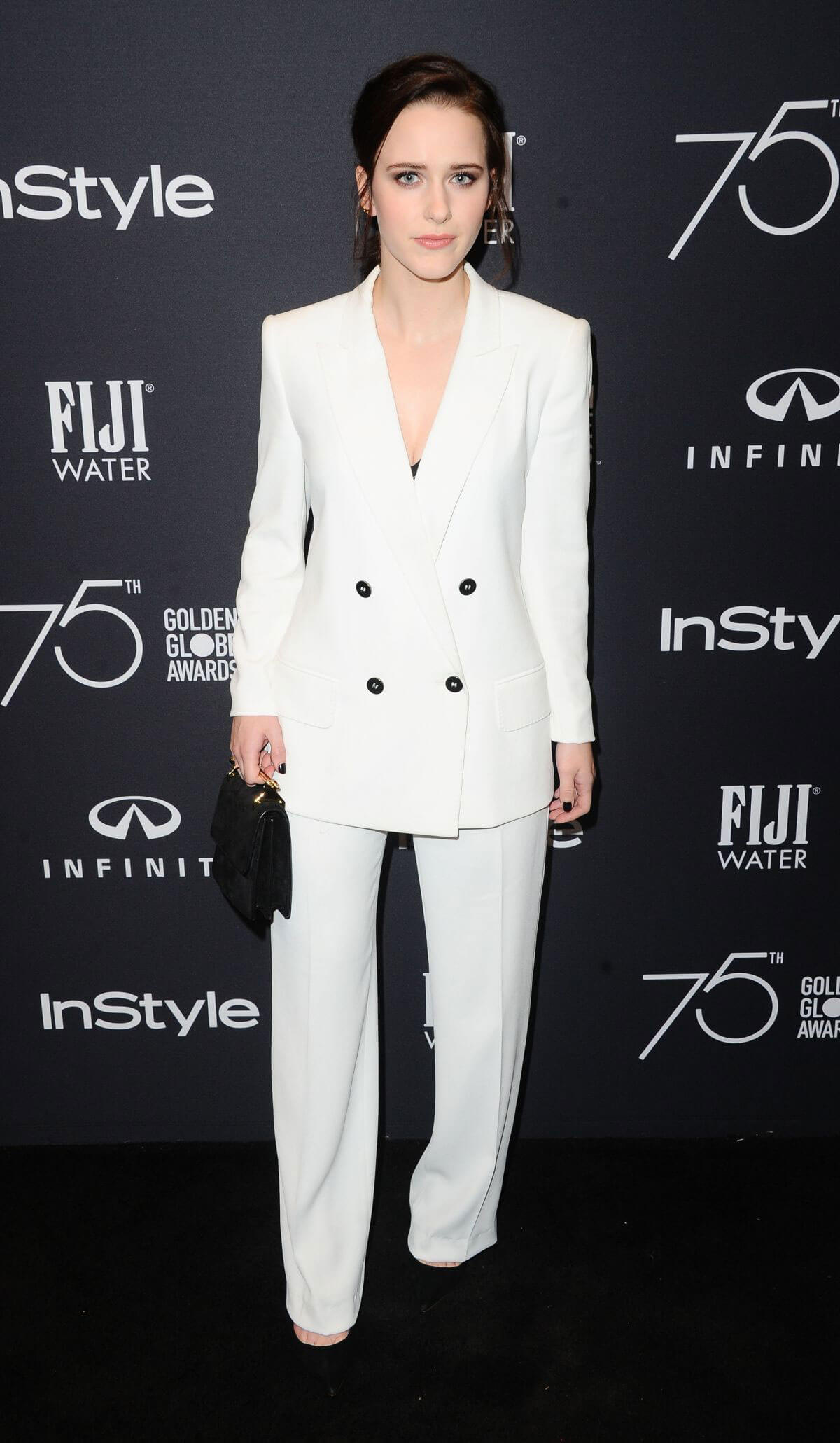 Rachel Brosnahan Stills at HFPA & Instyle Celebrate 75th Anniversary of the Golden Globes in Los Angeles 2017/11/15