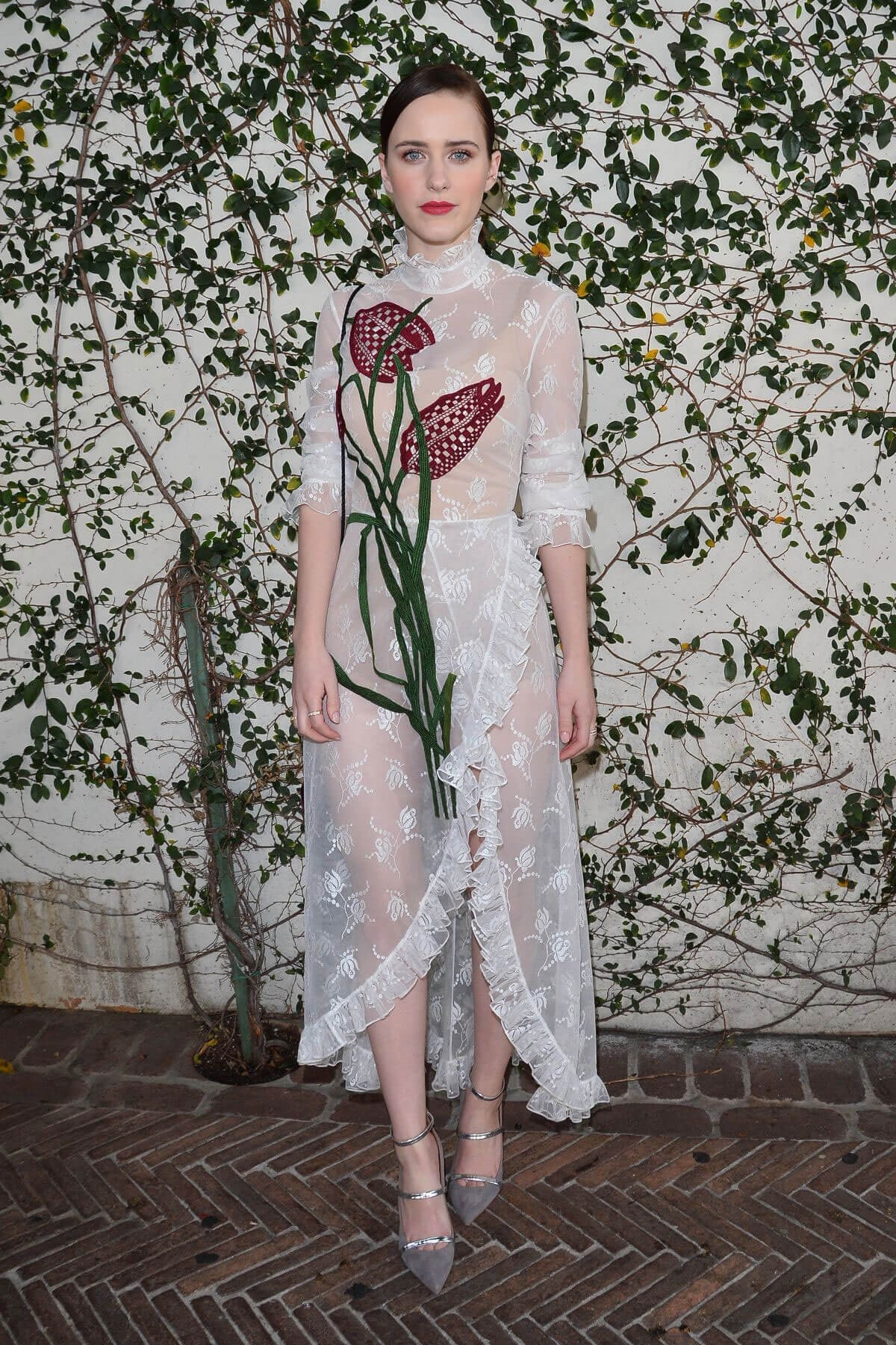Rachel Brosnahan Stills at W Magazine's It Girls with Dior in Los Angeles 2018/01/06