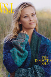 Reese Witherspoon Poses for WSJ Magazine November 2017