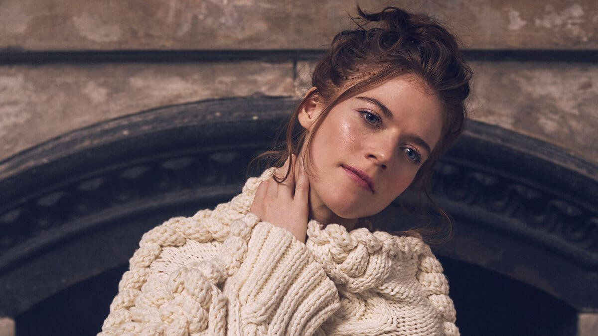 Rose Leslie Poses for CBS Watch! Magazine, January/February 2018