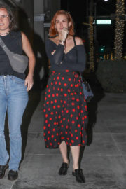 Rumer Willis Stills Out for Dinner with a Friend in Beverly Hills 2018/01/12