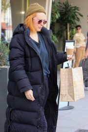 Rumer Willis Stills Out for Lunch at Cafe Gratitude in Beverly Hills 2018/01/30